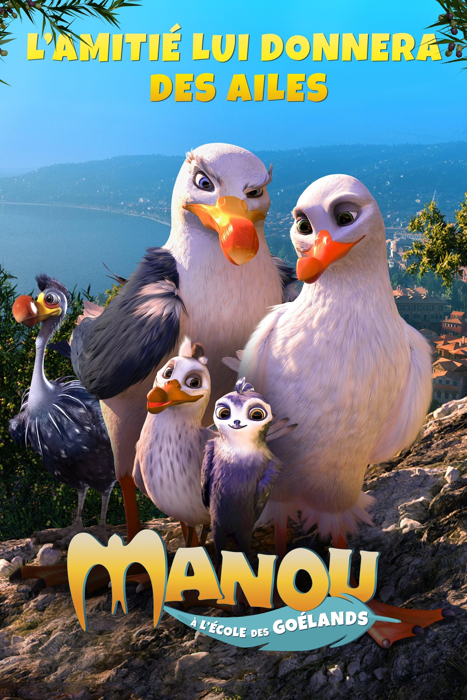 voir film Manou à l'école des goélands streaming