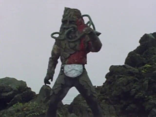 Kamen Rider Season 1 :Episode 41  Magma Monster Ghoster, Decisive Battle at Sakurajima
