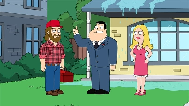 American Dad! Season 12 :Episode 7  LGBSteve