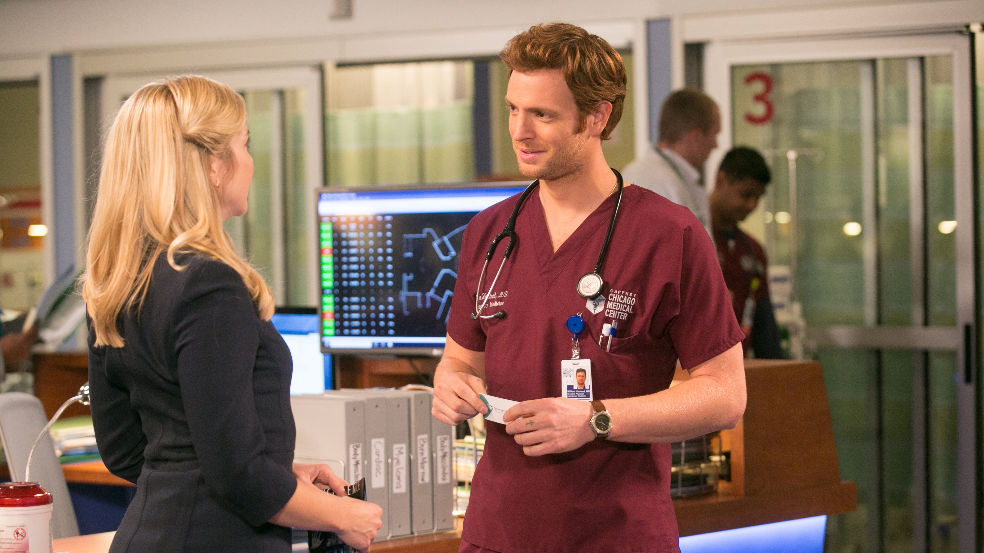 Who is dating in real life from the chicago med on tv