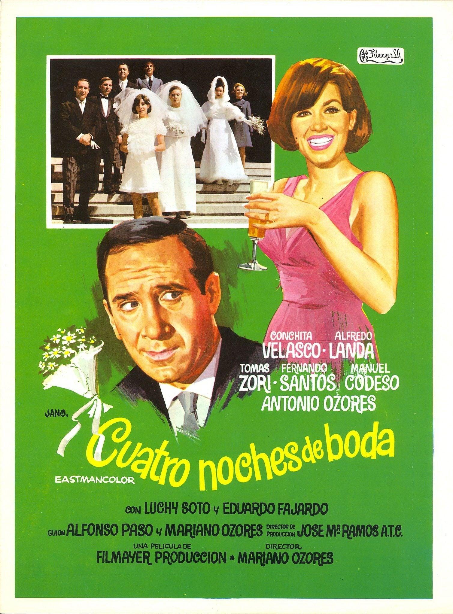 Cuatro noches de boda (1969)