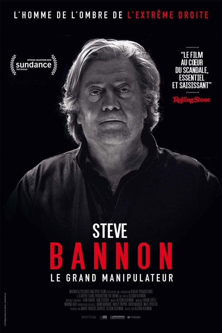 Steve Bannon - Le grand manipulateur streaming sur zone telechargement
