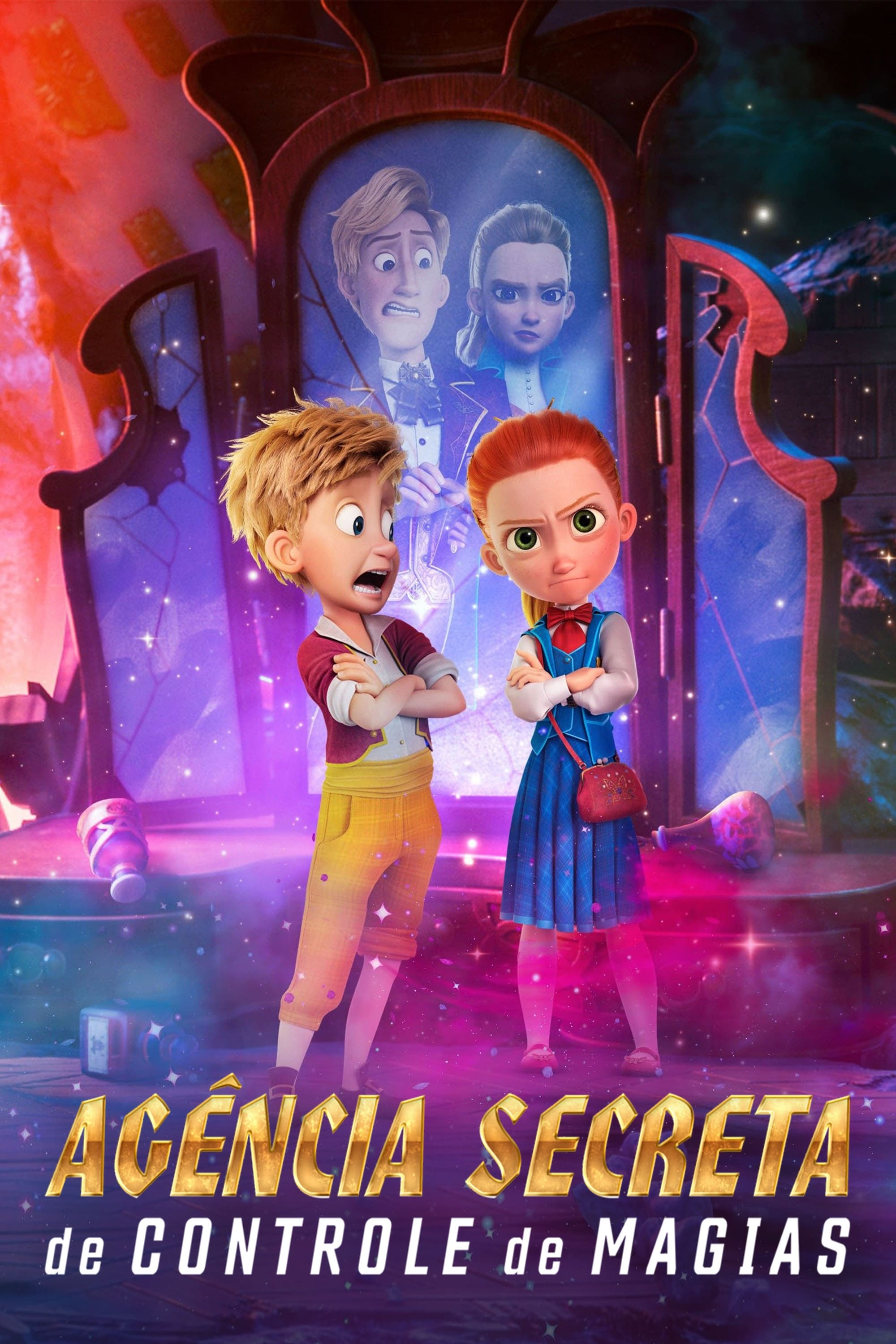 Poster and image movie Secret Magic Control Agency