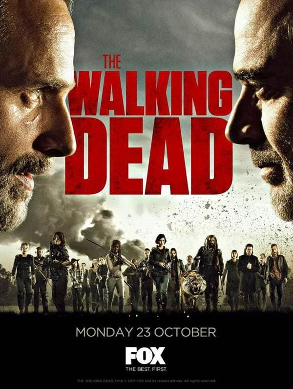 The Walking Dead 8º Temporada (2017) Blu-Ray 720p