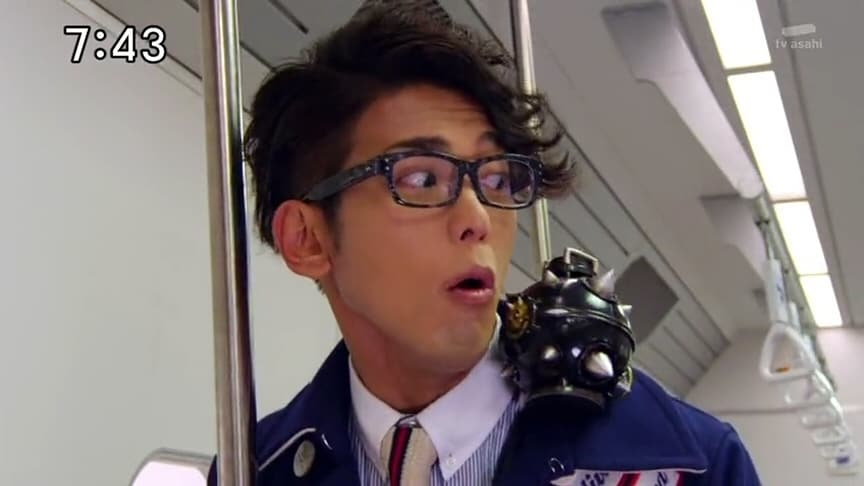 Super Sentai Season 38 :Episode 8  Rainbow Line's Big Explosion