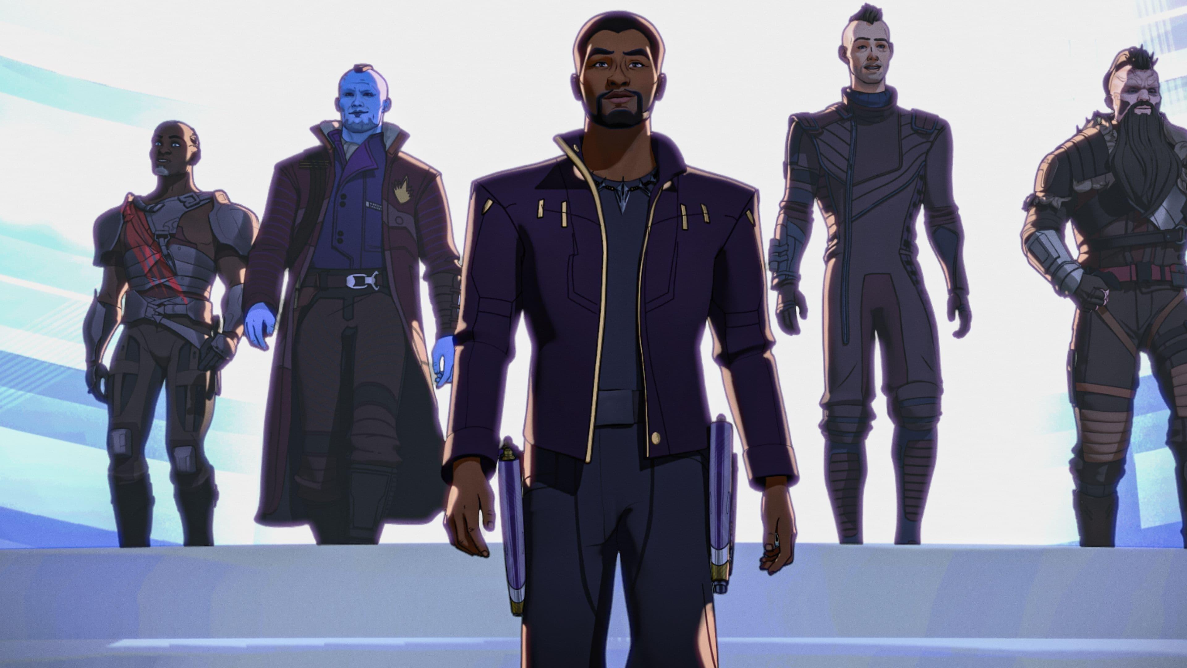 What If...? Season 1 :Episode 2  Was wäre, wenn... T'Challa zu Star Lord geworden wäre?