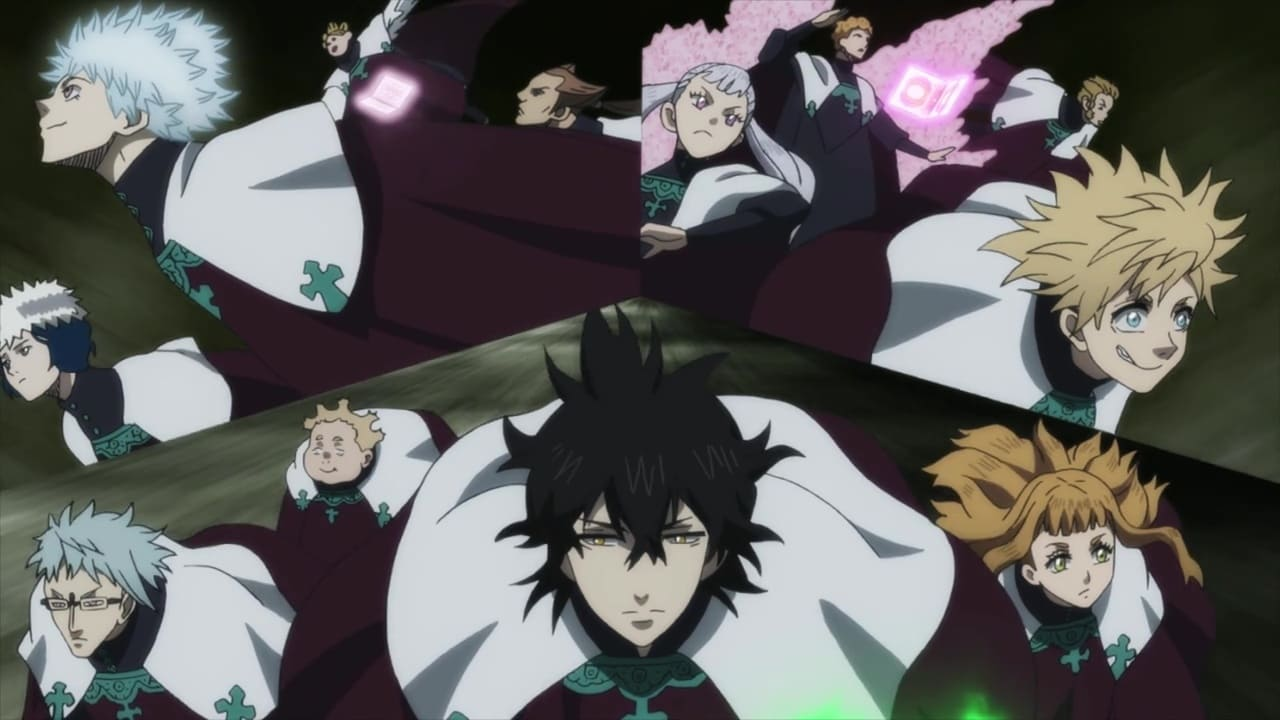Black Clover - Season 1 Episode 88 : Storming the Eye of the Midnight Sun's Hideout!!!