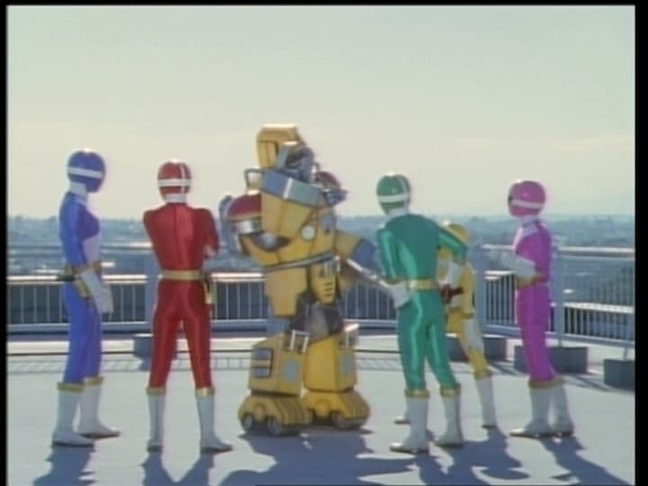 Super Sentai Season 23 :Episode 46  The Flame-Throwing Firefighter Robo
