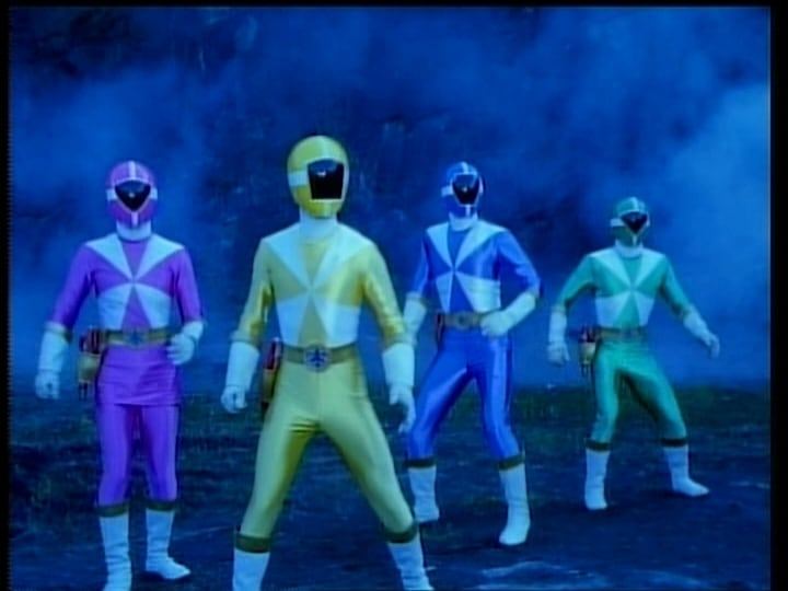 Super Sentai Season 23 :Episode 48  The Showdown at Psyma Paradico