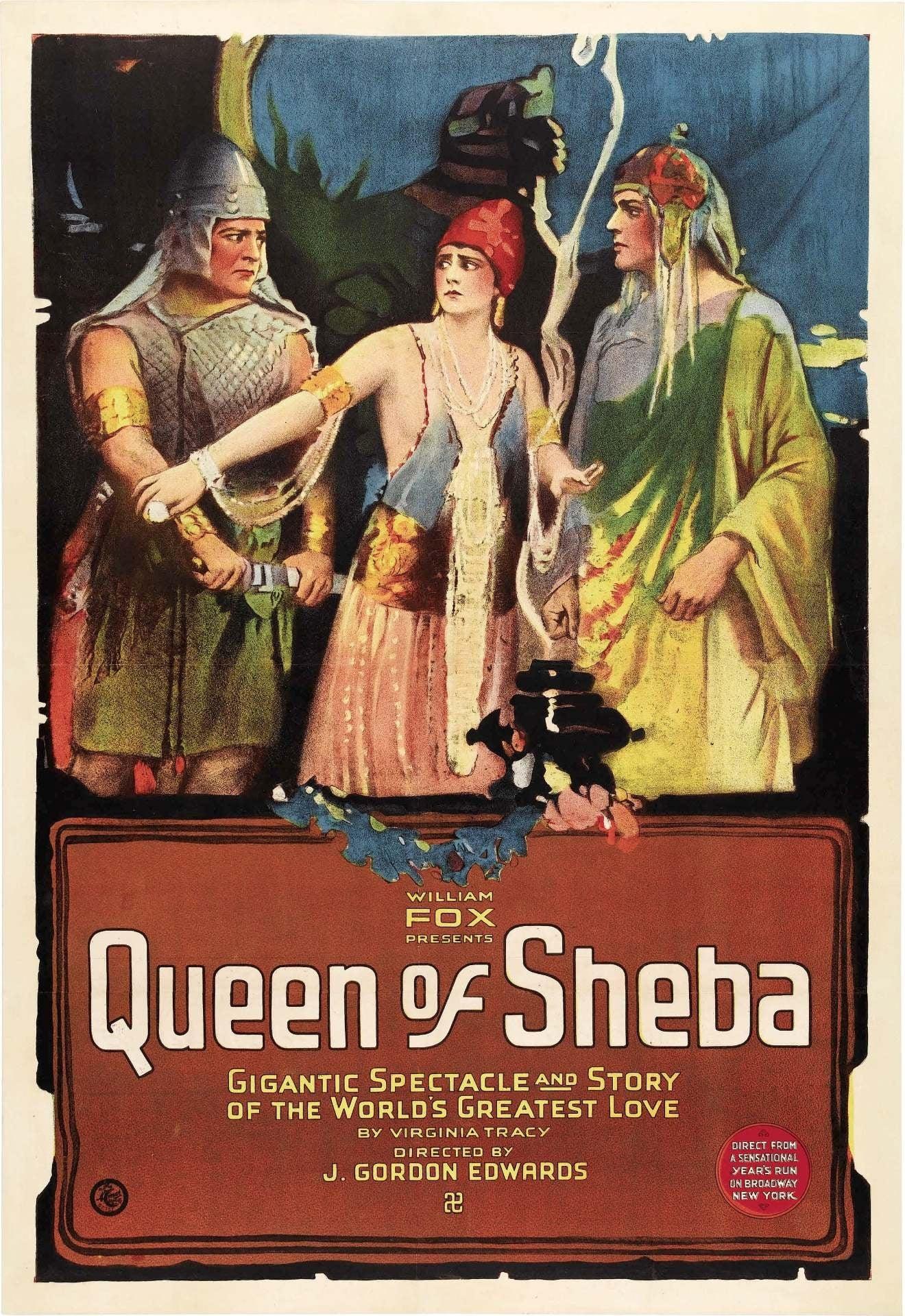 The Queen of Sheba (1921)