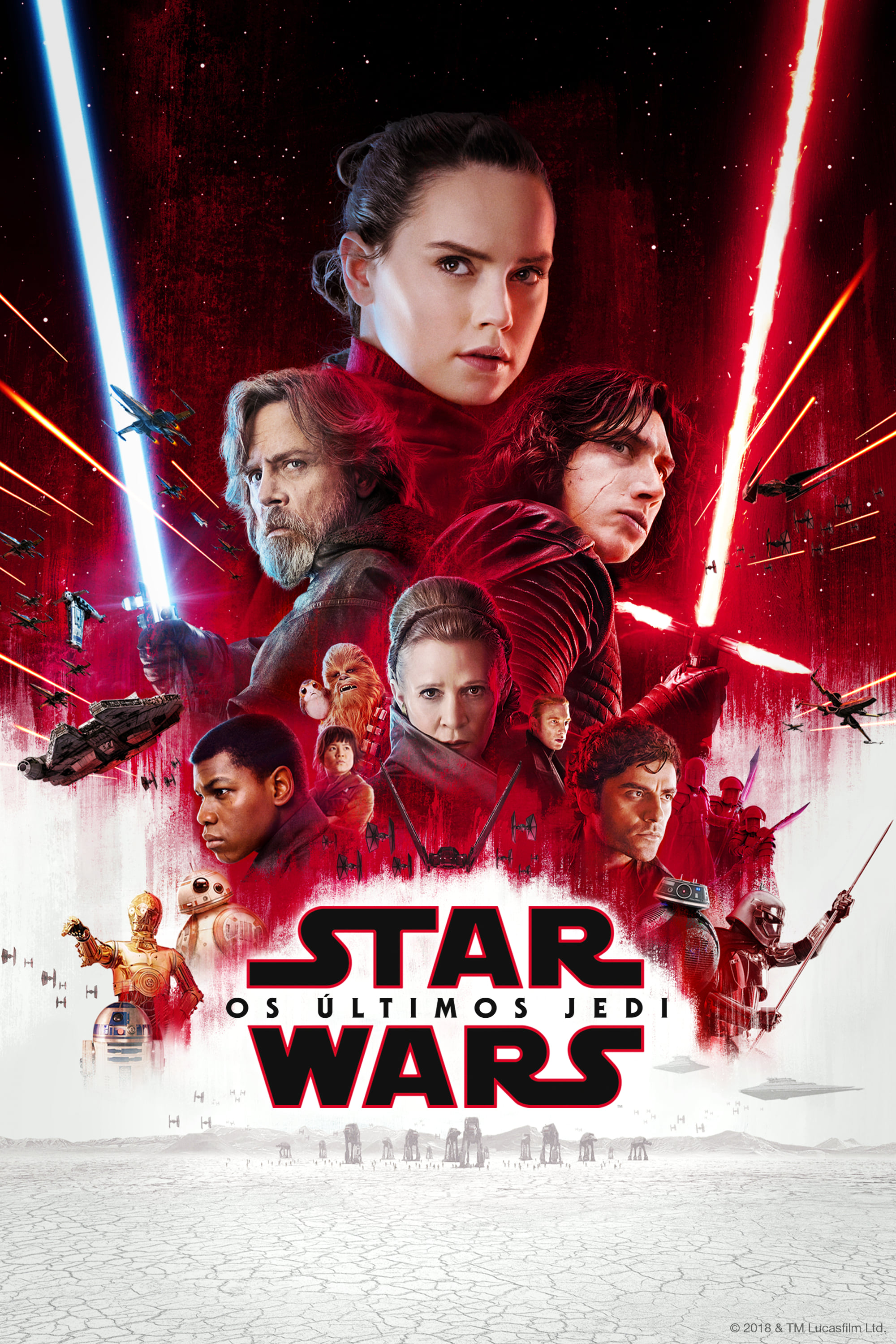 Star Wars 8 Os Últimos Jedi Torrent (2018) Dual Áudio Dublado BluRay 1080p Download