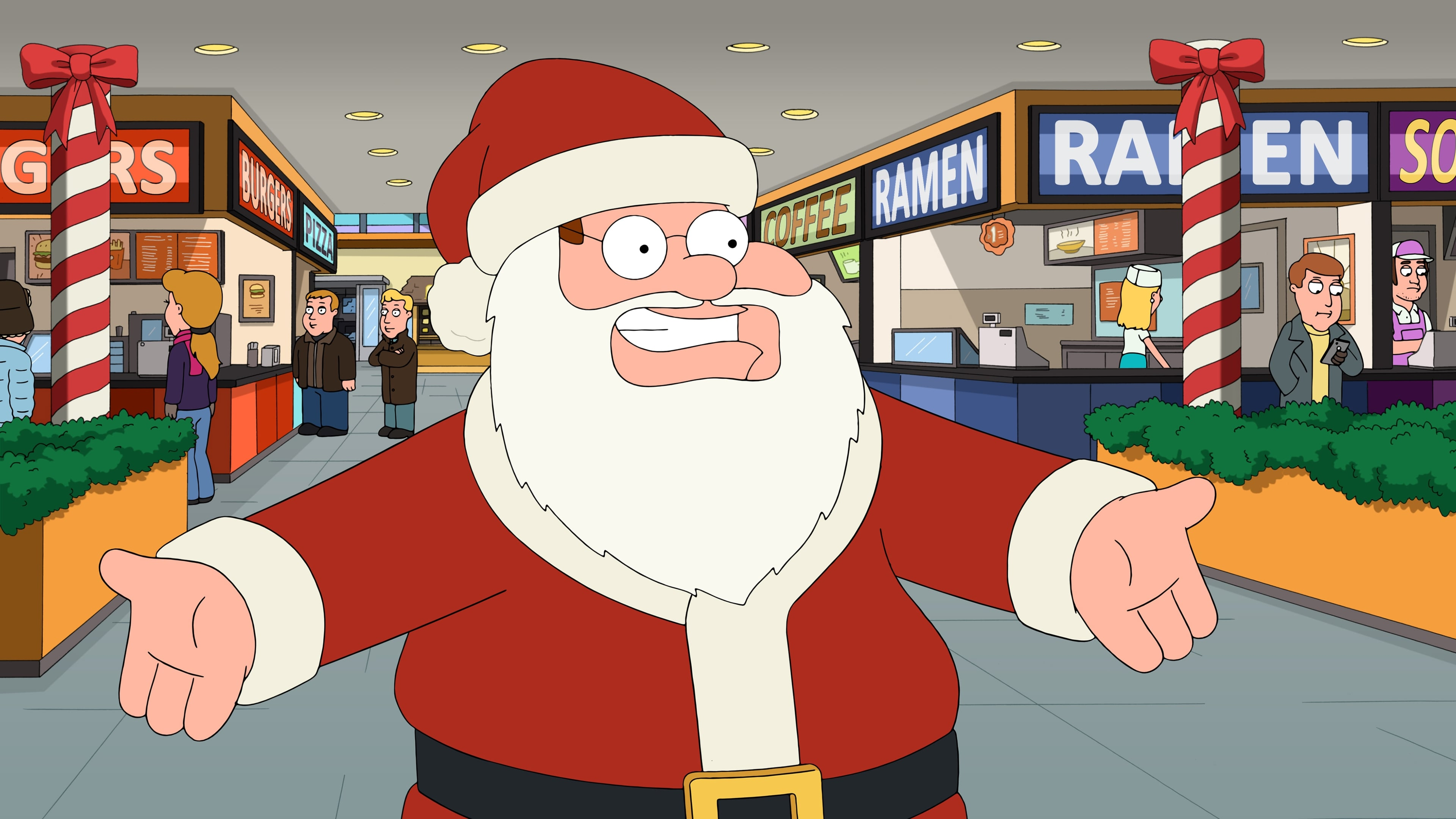 Family Guy Season 15 :Episode 9  How the Griffin Stole Christmas
