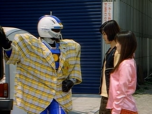 Super Sentai Season 20 :Episode 17  A Head-on Fashion Collision!