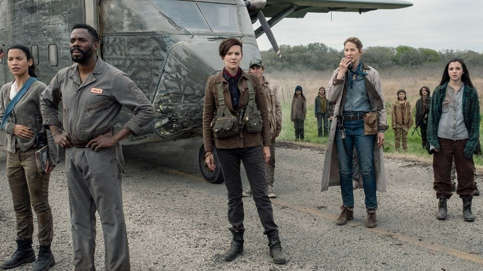 Fear the Walking Dead Season 5 :Episode 8  Is Anybody Out There?