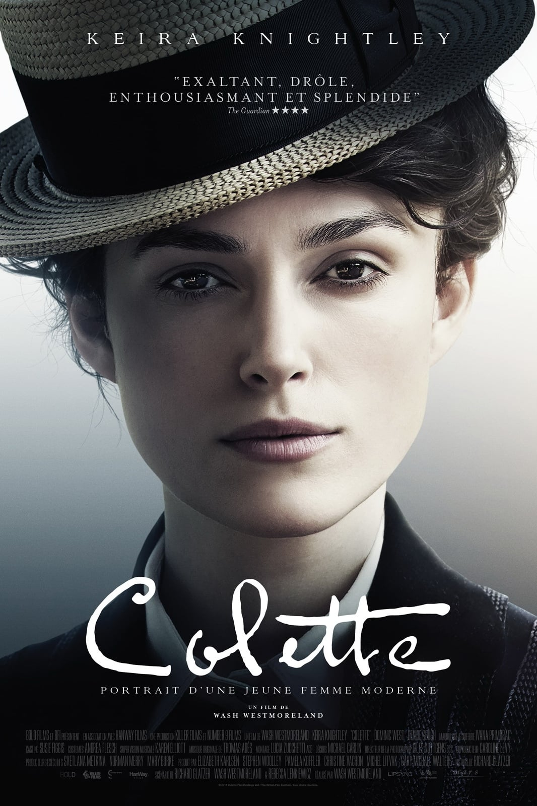 Poster and image movie Film Colette 2018