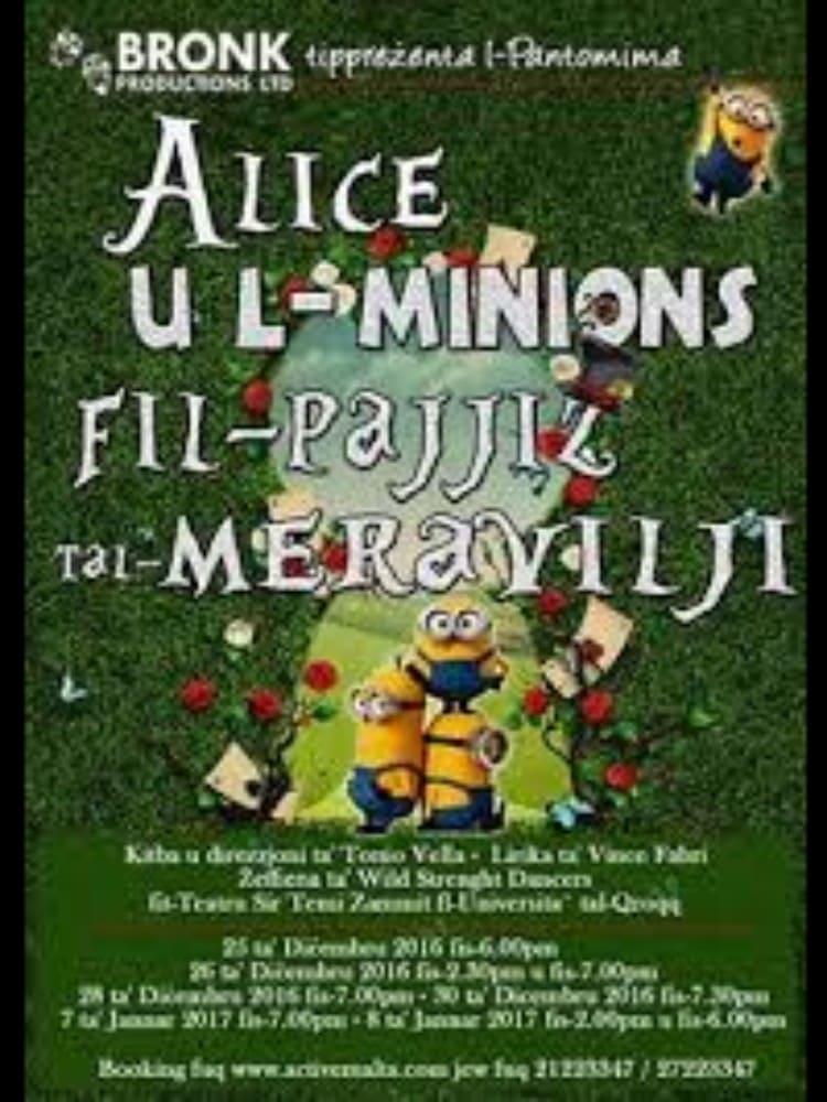 Alice u l Minions fil Pajjiz tal Meravilji (2016)
