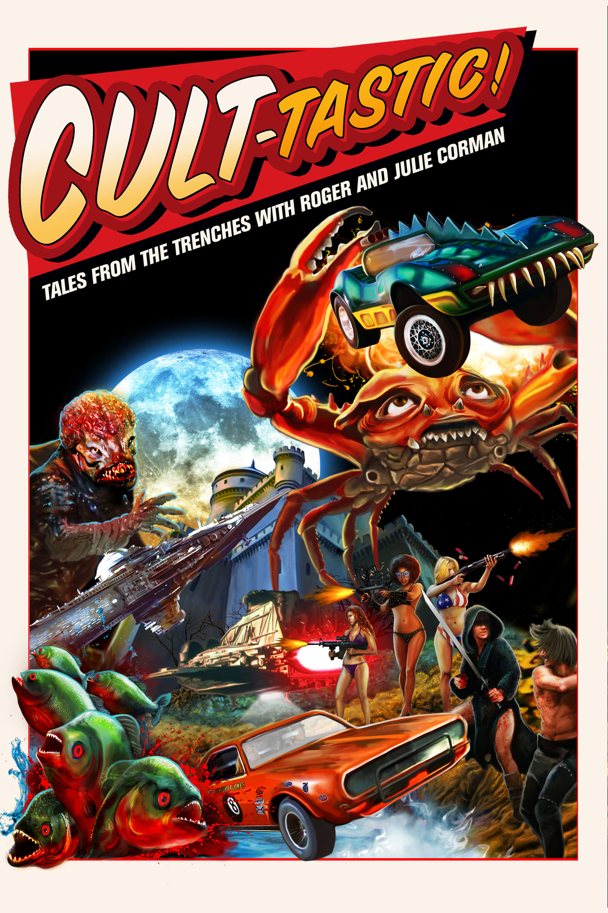CULT-TASTIC: Tales From The Trenches With Roger And Julie Corman on FREECABLE TV