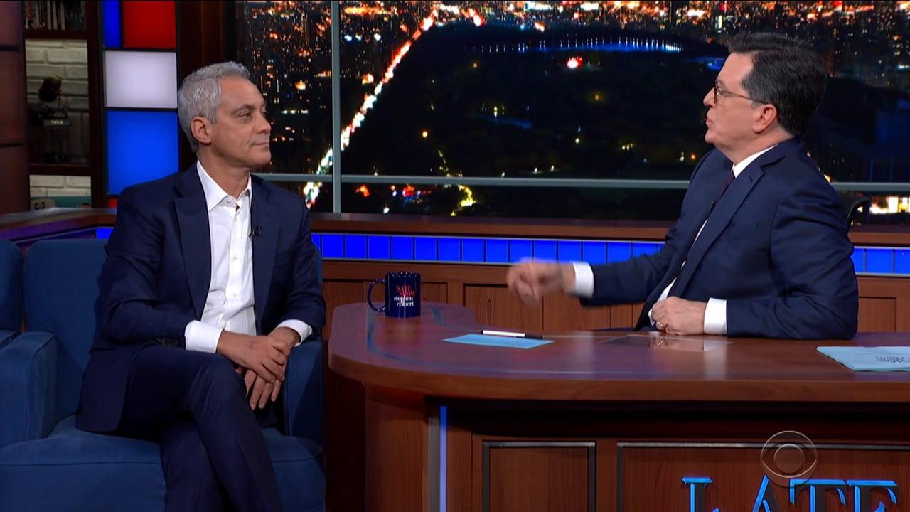 The Late Show with Stephen Colbert Season 5 :Episode 91  Rahm Emanuel / Hailee Steinfeld