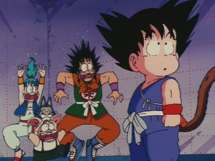 Dragon Ball Season 1 :Episode 12  A Wish to the Eternal Dragon