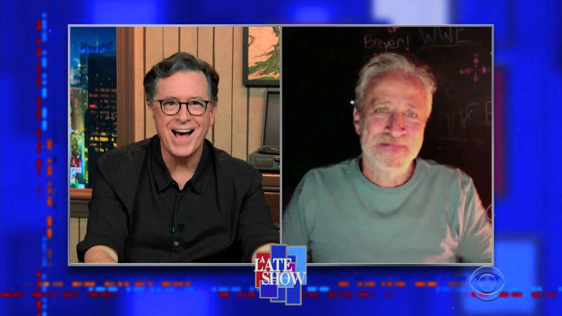 The Late Show with Stephen Colbert Season 6 :Episode 28  Jon Stewart, Neil deGrasse Tyson