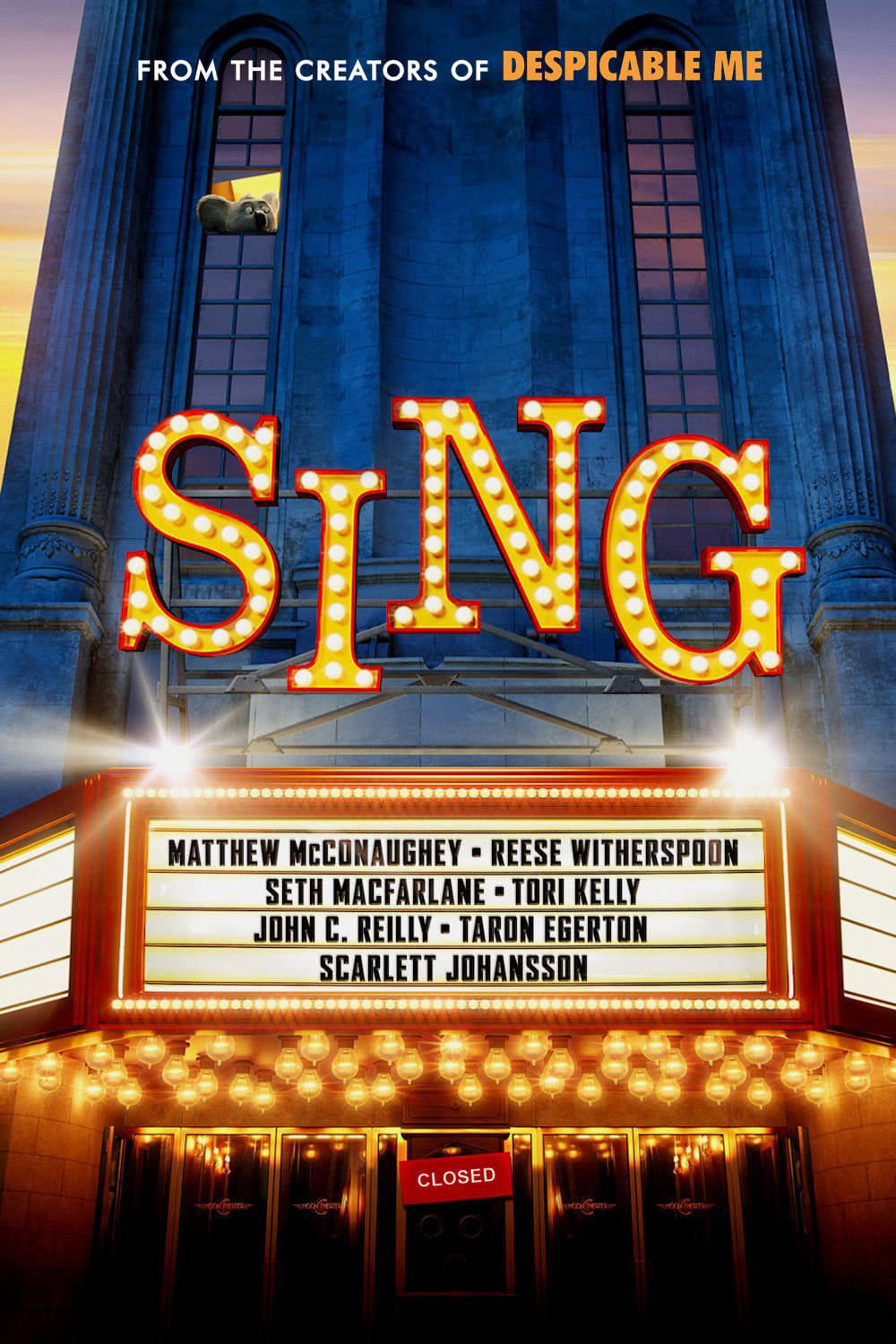 sing 2016 posters � the movie database tmdb