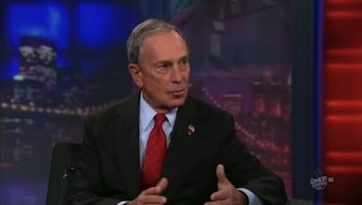 The Daily Show with Trevor Noah Season 15 :Episode 110 Mayor Michael Bloomberg