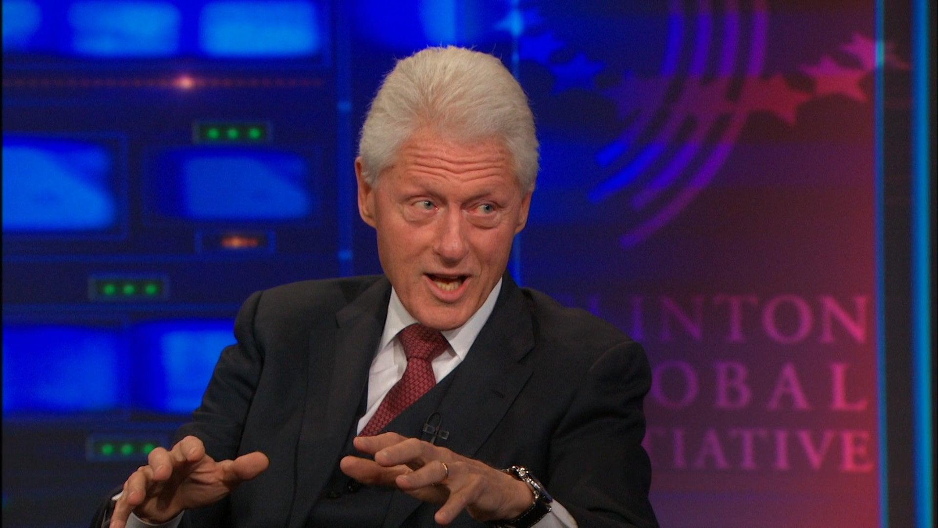 The Daily Show with Trevor Noah Season 19 :Episode 155  Bill Clinton
