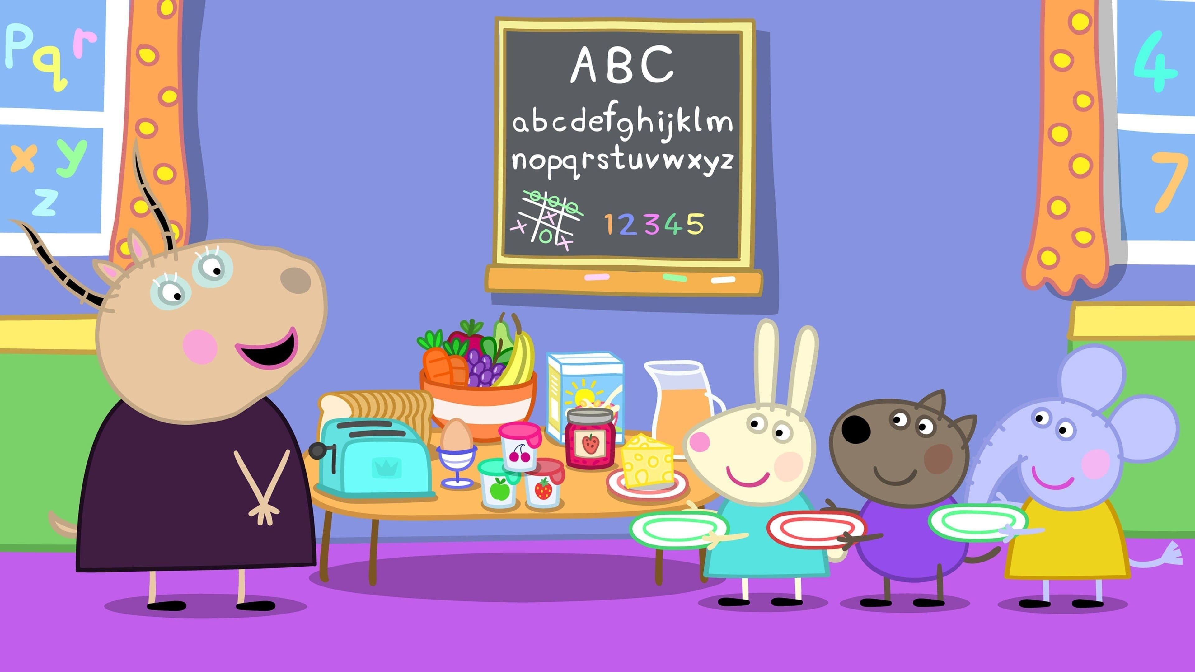 Peppa Pig Season 6 :Episode 29  Breakfast Club