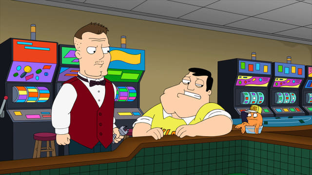 American Dad! Season 17 :Episode 15  Men II Boyz