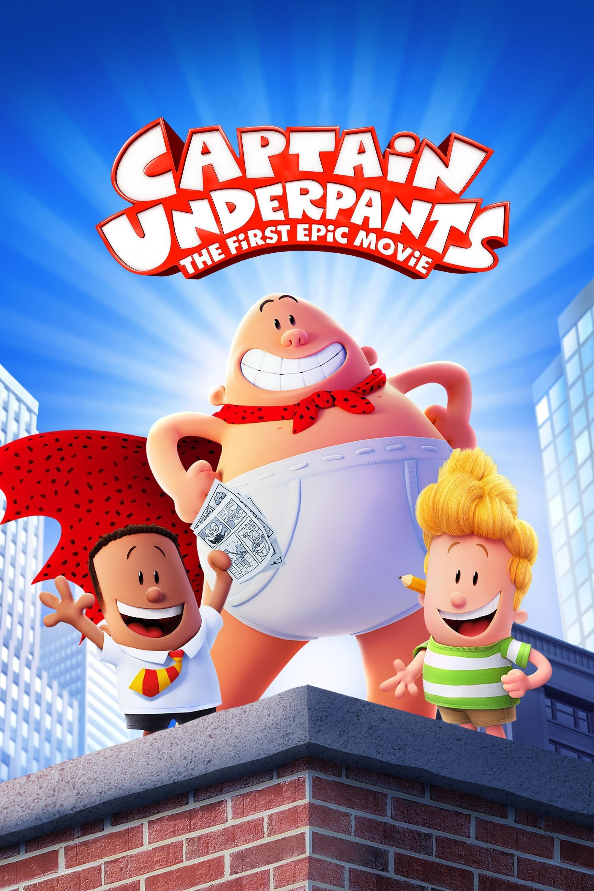 Film Aventurile Capitanului Underpants Captain