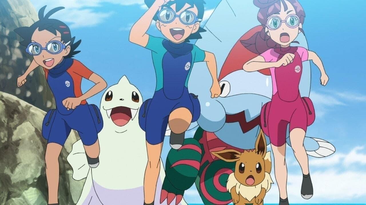 Pokémon Season 24 :Episode 15  Challenge! The Pokémon Marine Obstacle Course!!