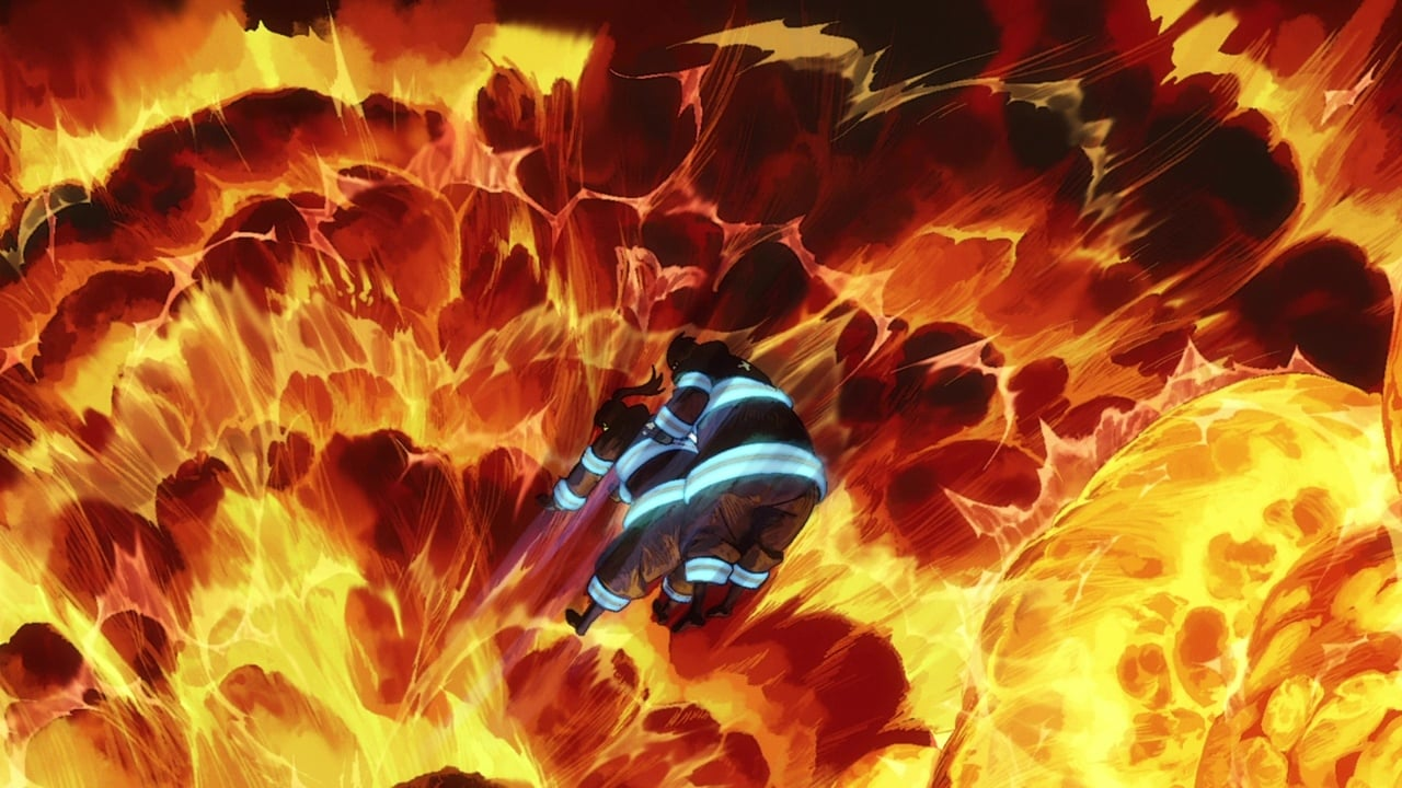 Fire Force Season 1 :Episode 5  The Battle Begins