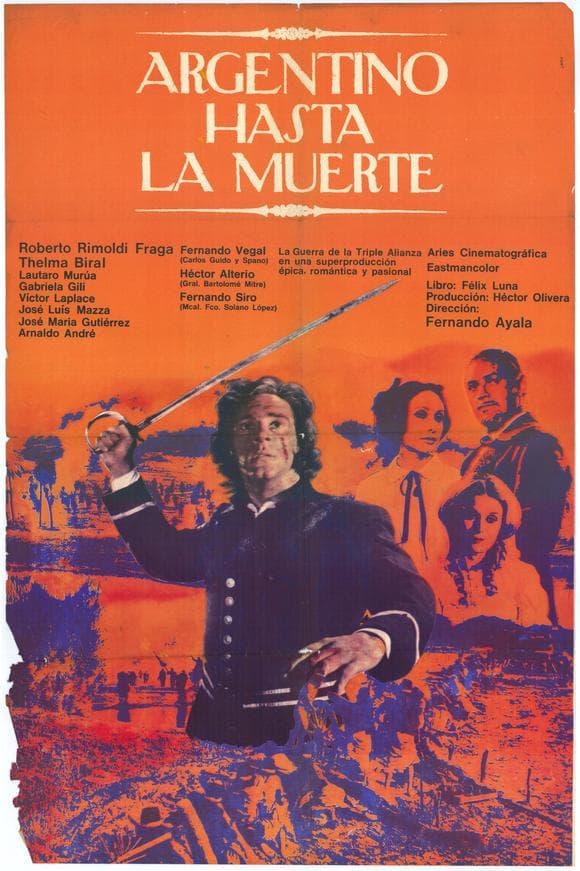 Ver Argentino hasta la muerte Online HD Español (1971)