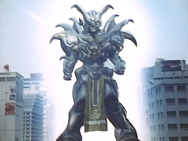Super Sentai Season 15 :Episode 44  Majin Robot! Veronica