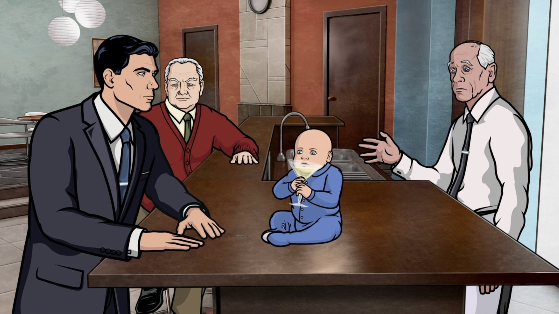Archer Season 2 :Episode 5  The Double Deuce
