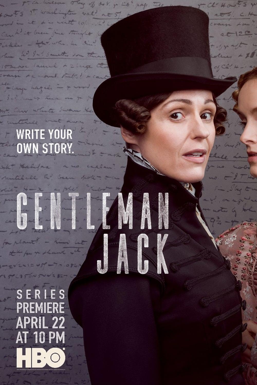 Gentleman Jack 1ª Temporada poster, capa, cartaz