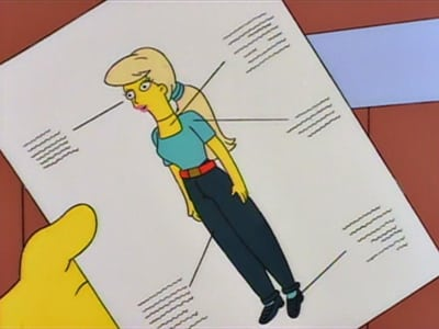 The Simpsons Season 5 :Episode 14  Lisa vs. Malibu Stacy
