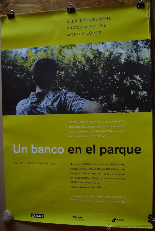 Ver Un banco en el parque Online HD Español (1999)