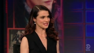 The Daily Show with Trevor Noah Season 16 :Episode 97  Rachel Weisz