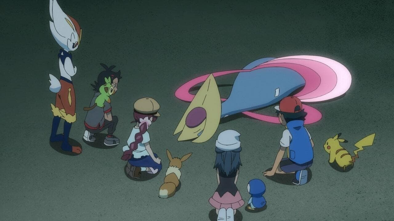 Pokémon Season 24 :Episode 27  Cresselia: A Midsummer Night's Light