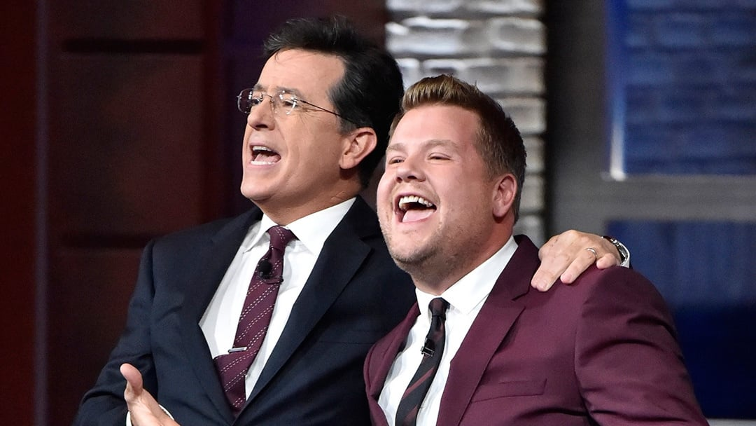 The Late Show with Stephen Colbert Season 1 :Episode 24  James Corden, Shane Smith, Halsey