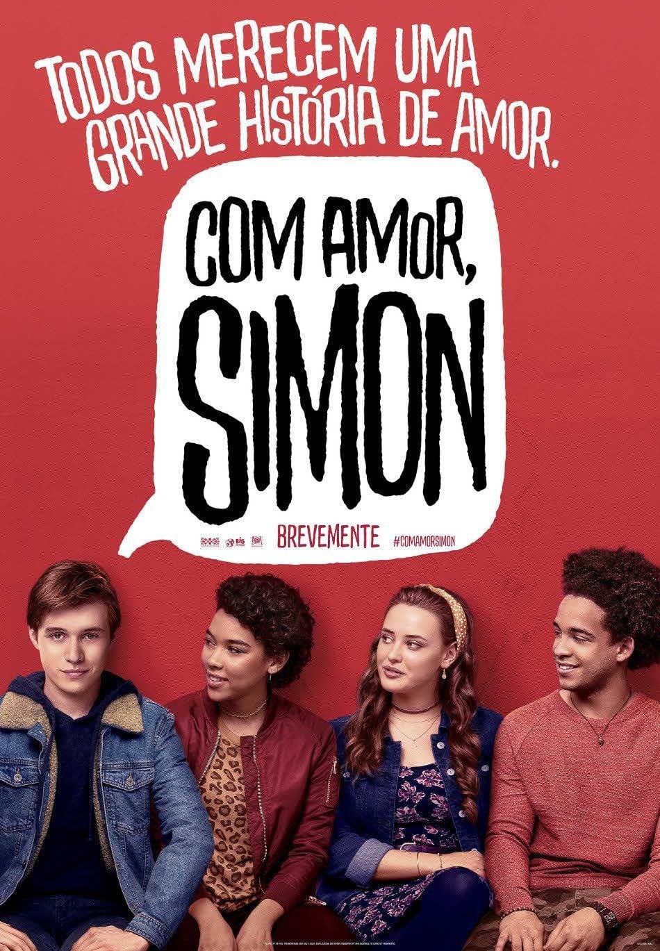 Baixar Com Amor, Simon (2018) Dublado via Torrent