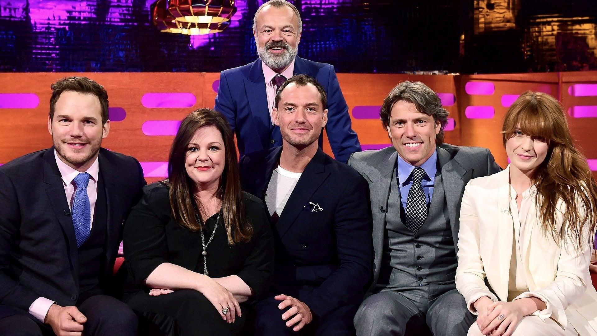 The Graham Norton Show Season 17 :Episode 8  Melissa McCarthy, Jude Law, Chris Pratt, John Bishop, Florence and the Machine