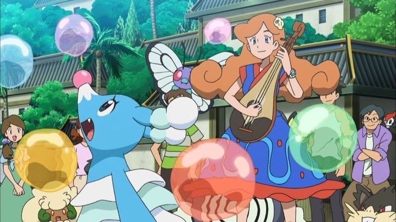 Pokémon Season 20 :Episode 40  Meer, Marikeck und Moruda!