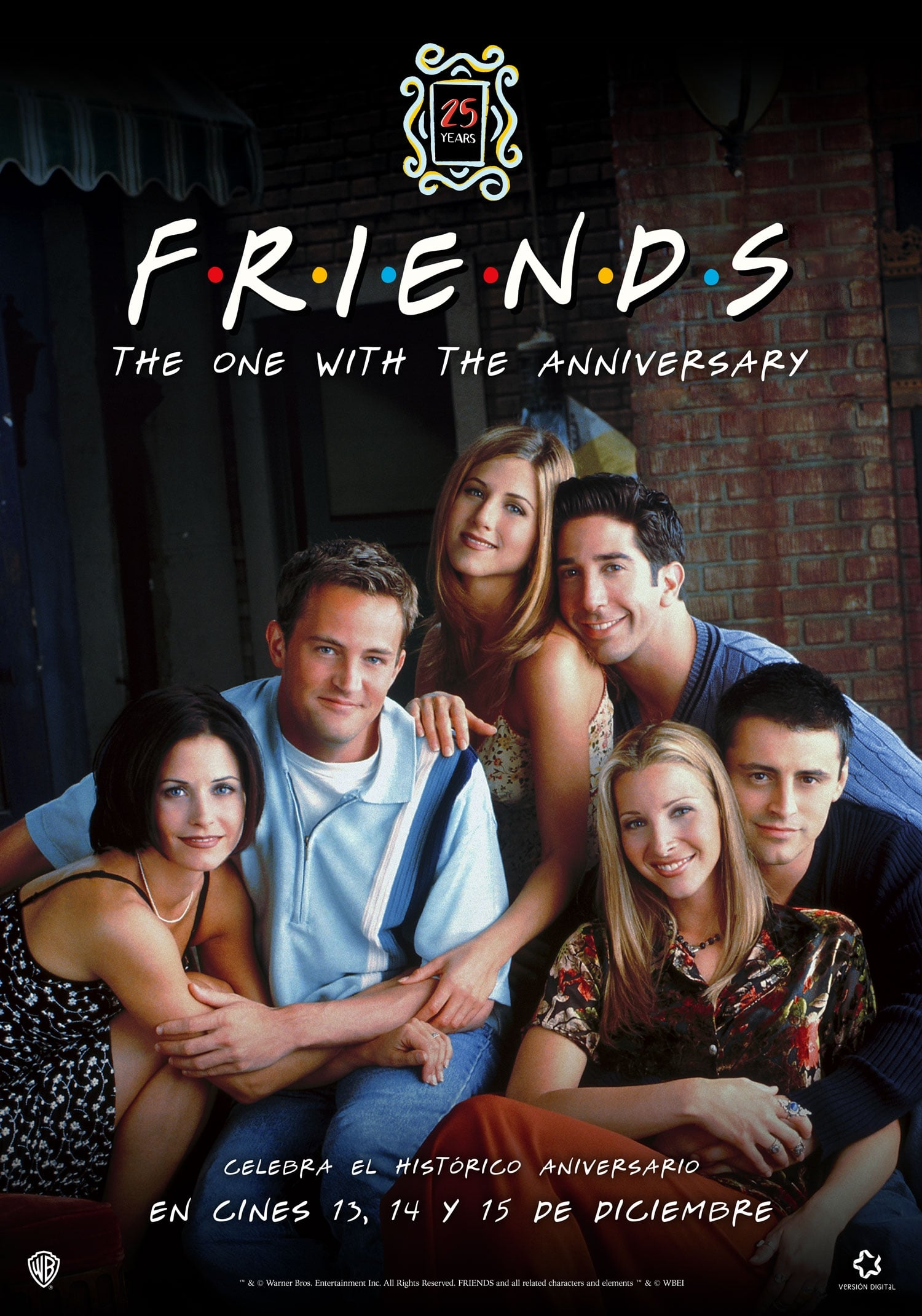 Friends 25th: The One With The Anniversary (2019)