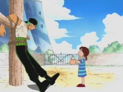 One Piece Season 1 :Episode 2  The Great Swordsman Appears! Pirate Hunter, Roronoa Zoro