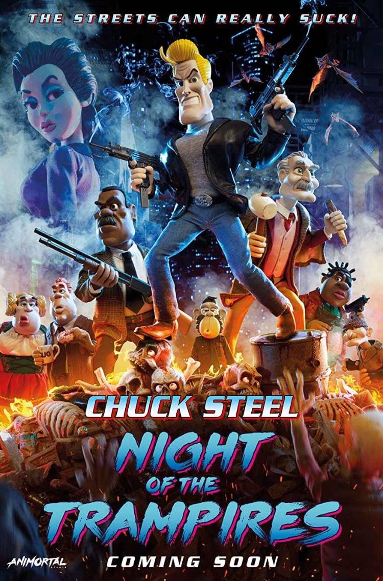 Ver Chuck Steel: Night of the Trampires Online HD Español (2017)