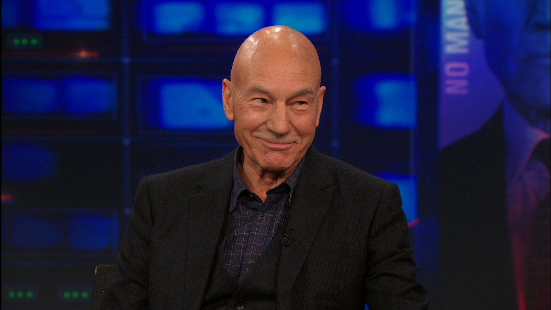 The Daily Show with Trevor Noah Season 19 :Episode 20  Patrick Stewart