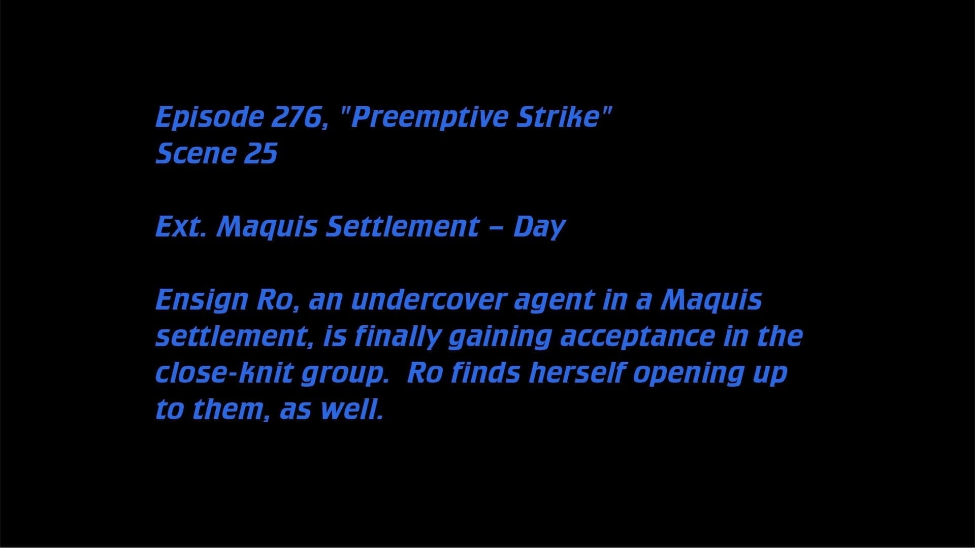 Deleted Scenes: S07E24 - Preemptive Strike-Azwaad Movie Database