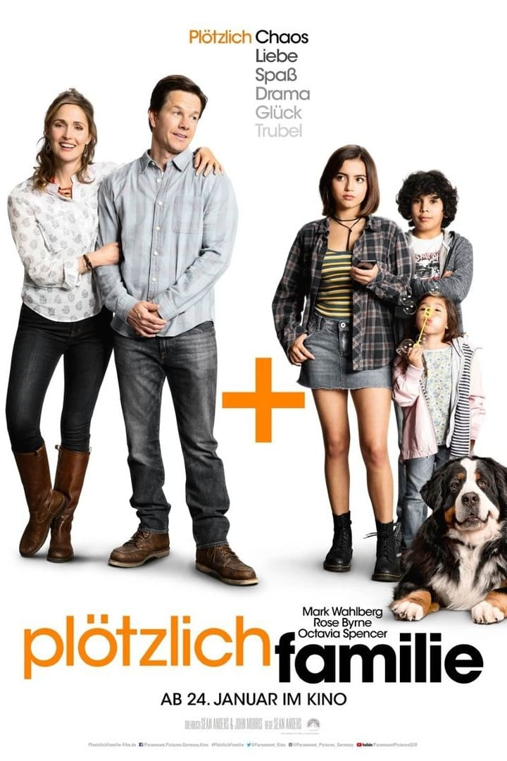 Poster and image movie Film Instant Family - Instant Family 2018